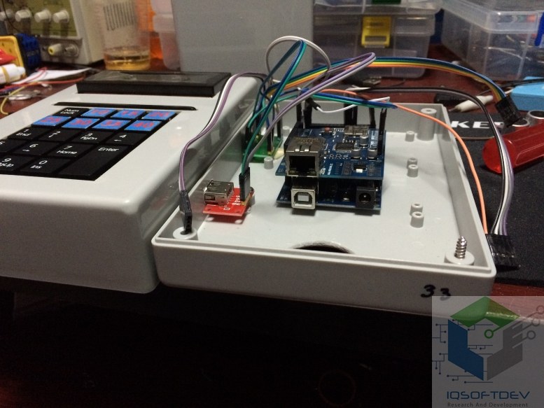 Arduino rfid read write data to mysql